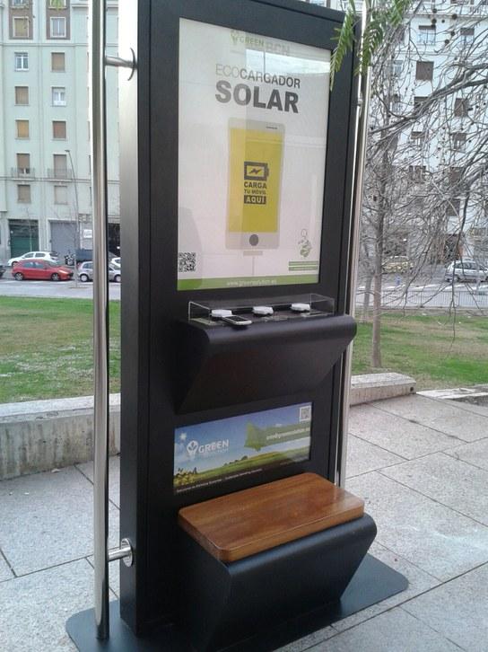 Ecocarregador Solar