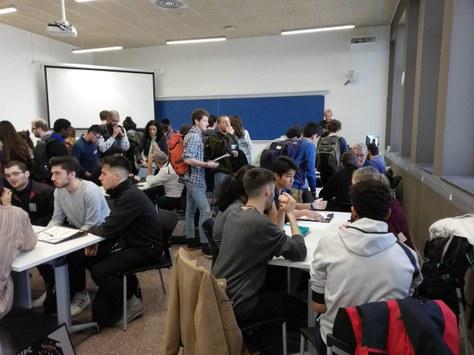Recta final de la competició universitària Recircula Challenge!
